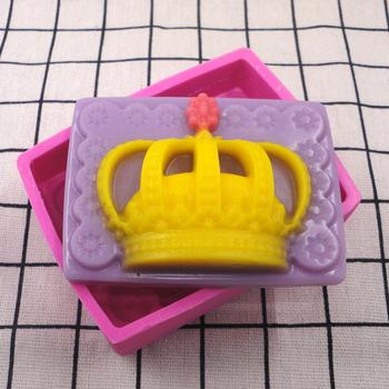 3d silikonowe do mydła formy korona królowej do rękodzieła artystycznego silikonowe do mydła formy formy do rękodzieła DIY mydło wyrabiane ręcznie formy mydło akcesoria do rękodzieła tanie i dobre opinie Soap Mold Silicone 0118 Mermaid silicone mold cake mold candy mold