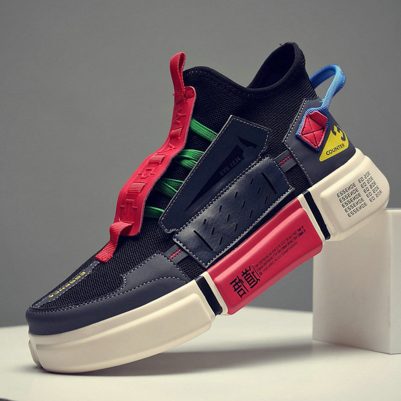 Designer Casual Shoes Men Sneakers Walking Footwear Breathable Mesh Sneakers Men Shoes A54-14