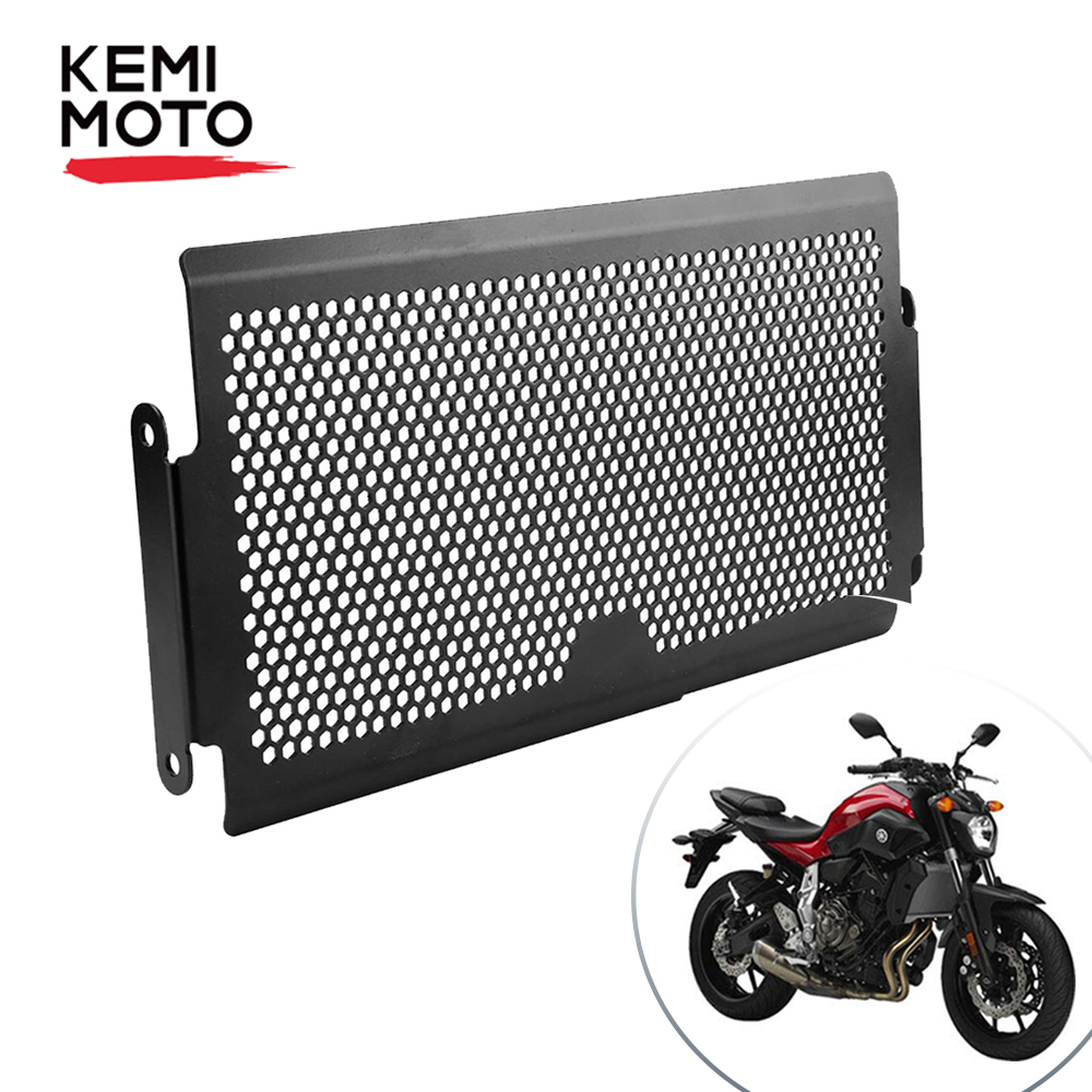 For Yamaha MT07 2018 MT 07 2019 Radiator Grille FZ 07 2014 2015 2016 2017 Radiator Protective Cover Guard Protecter Tracer