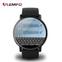 LEMFO-reloj inteligente LEMX 4G para hombre, dispositivo con Android, 2,03 pulgadas, GPS, WIFI, tarjeta SIM, cámara de 8MP, batería de 900Mah