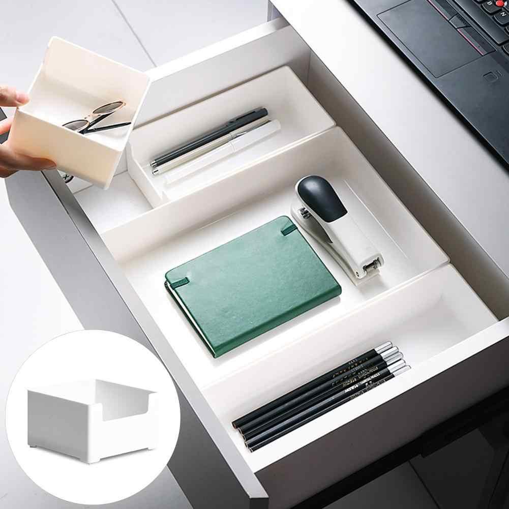 Cassetto di Trucco Scatola di Immagazzinaggio Articoli Vari Contenitore Cosmetico Scrivania Organizzatore di Cancelleria