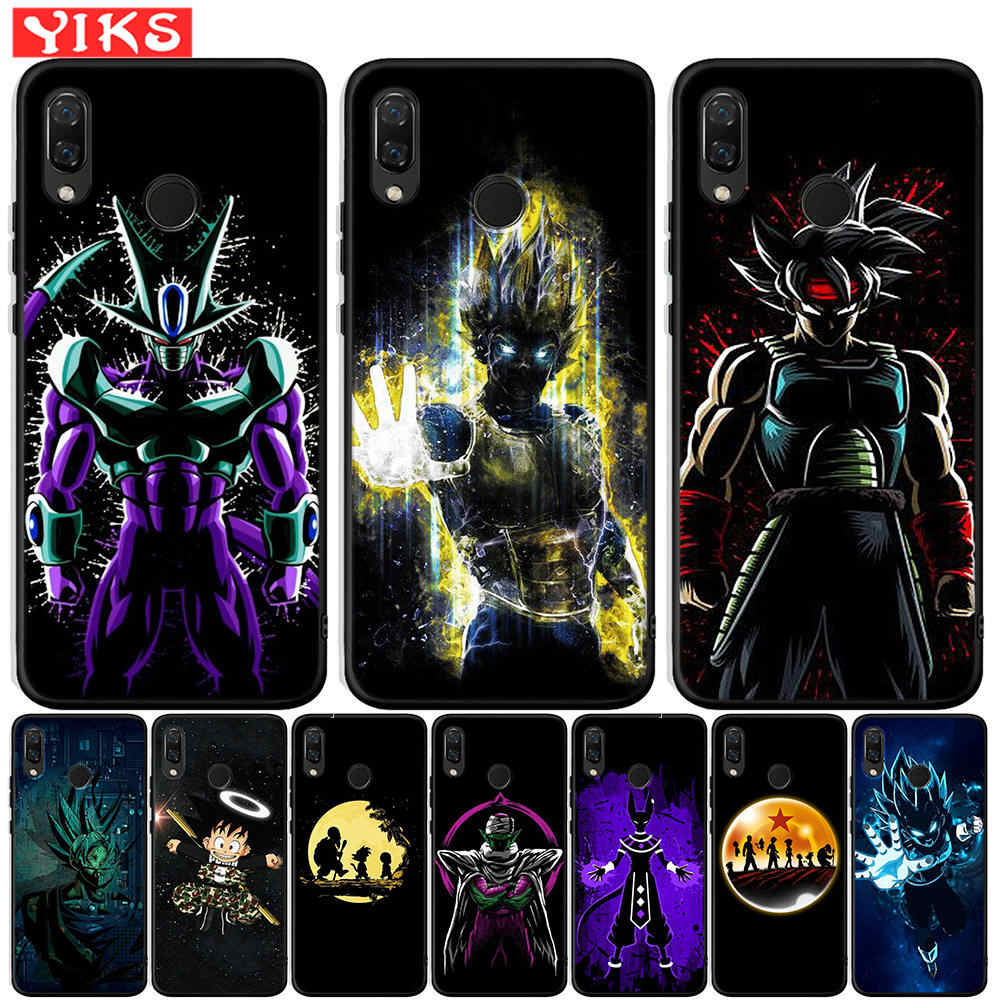 Аниме Dragon Ball Super Z для Honor 20 Pro 10 9 9i 8 Lite 8X 8C 8S 7A 7X V20 View 20 Мягкий силиконовый чехол Etui Capas