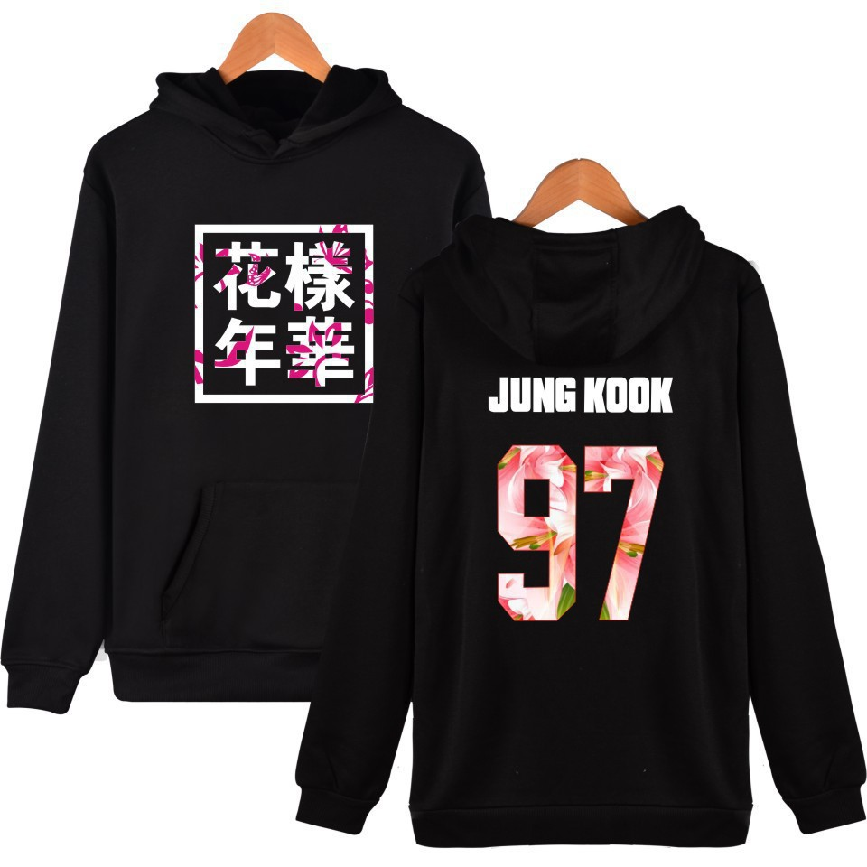 BTS Bulletproof Boys Fat Egg Album The Mood For Love Related Products Celebrity Style Hoodie Men And Women Couples Autumn Clothi