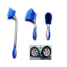 فرشاة تنظيف إطارات السيارات ، أداة تنظيف عجلة السيارة ، مقبض طويل عالي الجودة