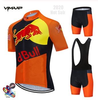 Astana-Conjunto de ropa de Ciclismo para hombre Maillot de carreras, Verano, 2020