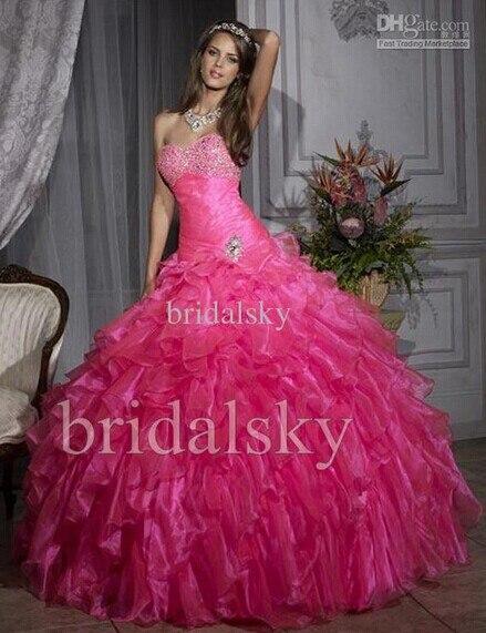 New Sexy Sweetheart Debutante Organza Vestido De Festa Vestido Longo 2016 Formatura Two Piece Party Prom Dresses Free Shipping