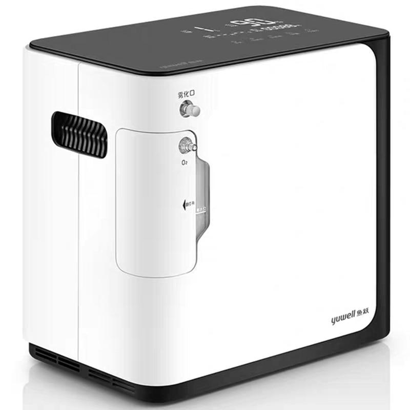 Yuwell yu360 concentrador de oxigênio gerador de oxigênio portátil máquina de oxigênio médica homecare ac220v 50hz inglês língua painel|Máquina de oxigênio|   -