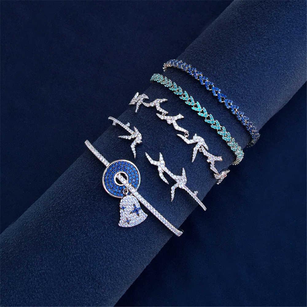 Cheny s925 sterling silver nuovo carillon di vento braccialetto femminile luce lusso rondine orecchio di grano braccialetto di stile banchetto