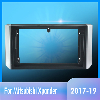 Special 9inch Car Radio Fascia Frame Dash Panel for Mitsubishi Xpander 2017-2019 Head Unit Car Refitting Stereo image