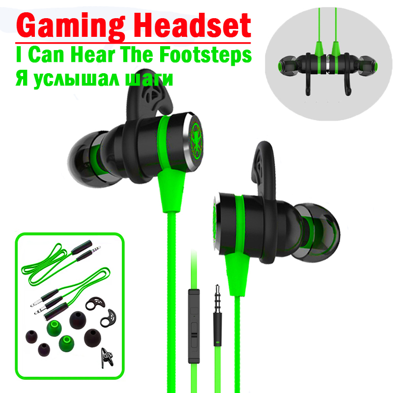 G20 hammerhead Gaming Headset gamer Stereo Bass gaming headphone with microphone Magnetic Original 2 2M wired Earphone for phone