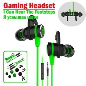 Image 1 - Plextone G20 פטיש 3.5mm בס משחקי אוזניות עם מיקרופון מגנטי משחקי אוזניות גיימר 2.2M wired אוזניות עבור טלפון