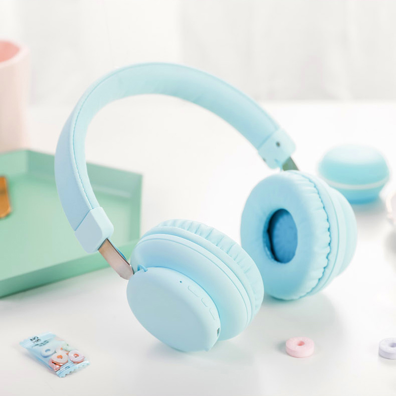 Fashion Pink Rose Gold Wireless Bluetooth Headphones Cute Headset With Microphone Bluetooth On Ear Headphone For Women Girl Kids Buy At The Price Of 16 66 In Aliexpress Com Imall Com