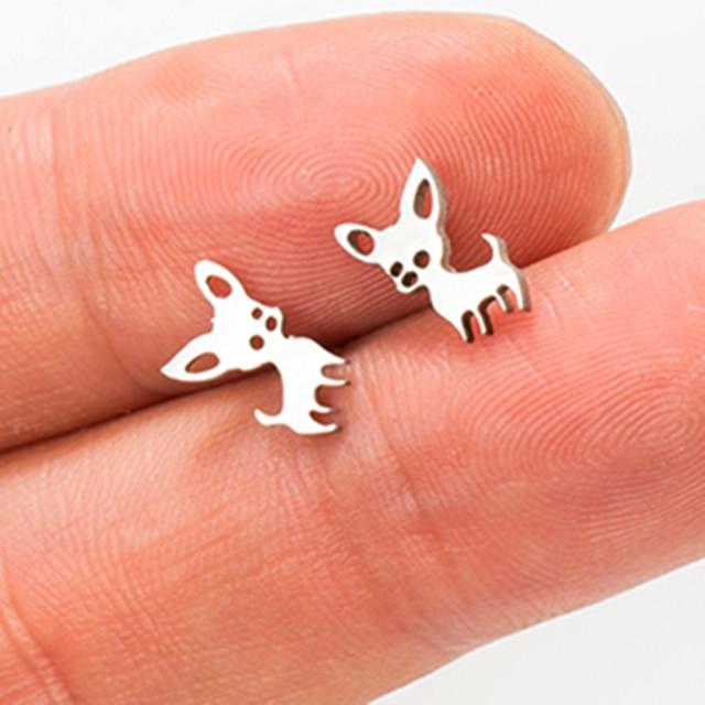 Dog Earrings  2