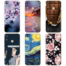 Honor 8A Case For huawei honor Silicone TPU Cute Back Cover Phone On Huawei JAT-LX1 8 A Honor8A Soft