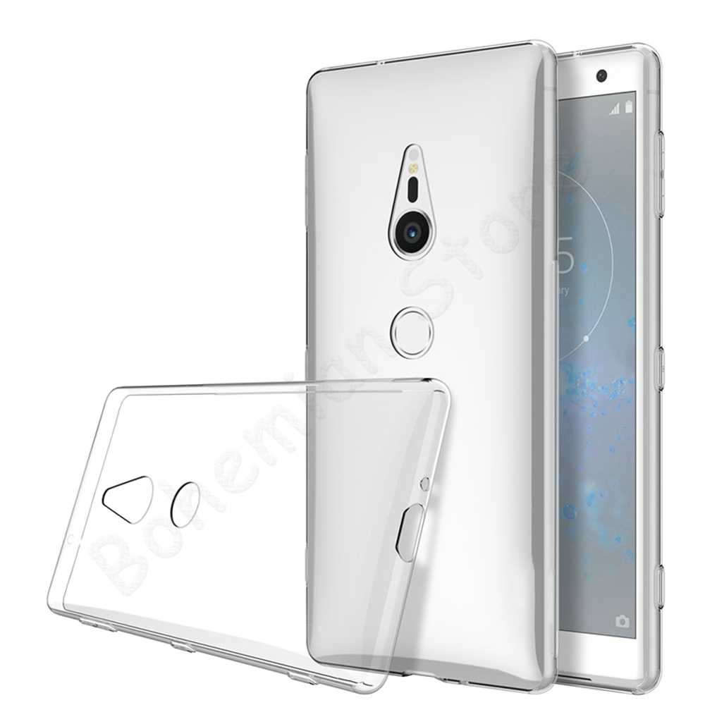 Phone Case For Sony Xperia XA XA1 XA2 XA3 XZ XZS XZ1 XZ2 XZ3 XZ4 Compact Premium Ultra Soft TPU Ultra-thin Transparent Cover