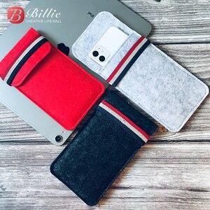 Image 3 - Pour étui iphone 11 Pro, pour Apple iphone 11 Pro Max 6.5 Ultra mince fait à la main en laine feutre housse de téléphone pour accessoires iphone 11