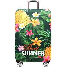 July'dosac Travel Bagage Beschermhoes Koffer Case Accessorie Baggag Elastische Bagage Cover Gelden 18-32 Inch Koffer(China)