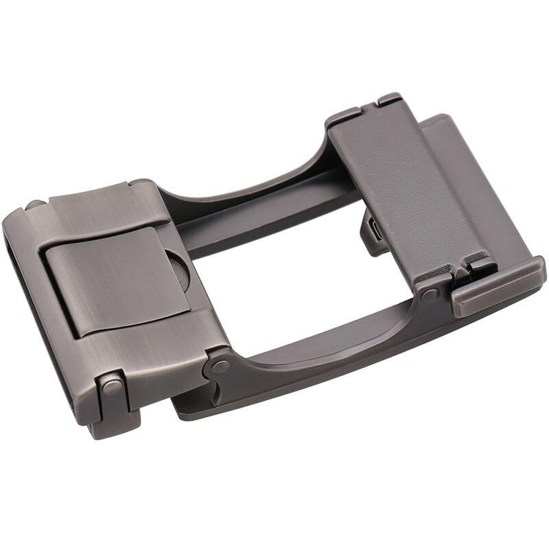 Wide 3.6CM Zinc Alloy Buckle Belt Men's Pants Belt Head For 3.4-3.6CM Straps