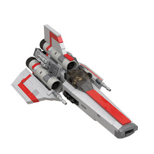 MOC Battlestaral Colonial Viperals MKII/MKI Fit High-Tech Star Space Series Wars Building Blocks Education Bricks Kid Toy 560PCS