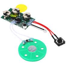 4mins DIY Recordable Greeting Card Module Light Sense Voice Sound Record Chip DIY Greeting Card Module Voice Greeting Module
