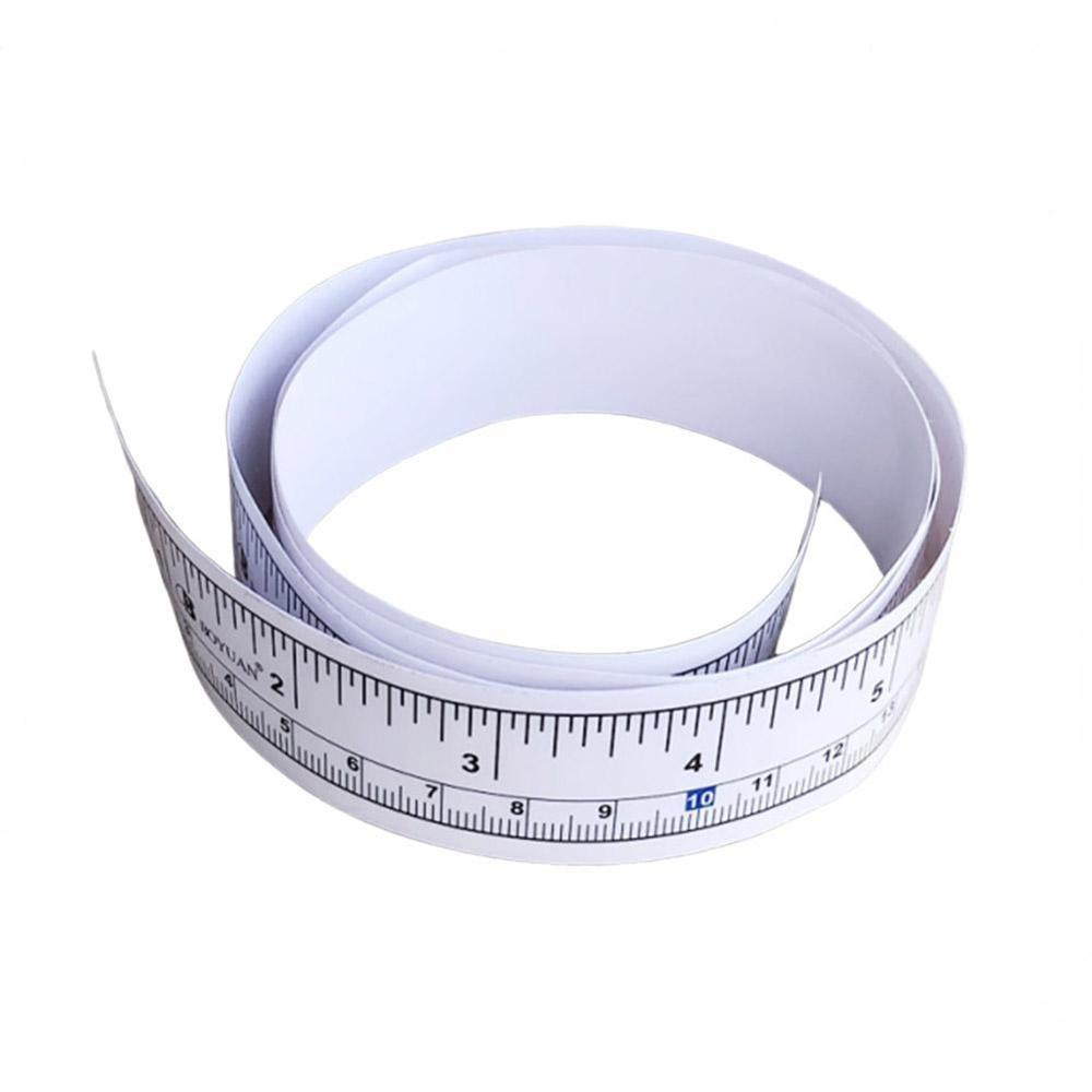 90/290CM Self Adhesive Metric Measure Tape Self Adhesive Metric Measure Tape Ruler Platen Ruler Self-adhesive Ruler