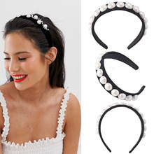New Hot Selling Creative Retro style Baroque Row Big Half Ball Pearl Hair Band for Lady women's Palace style Wide Side Head Band джексон мэкэй big bull band дин коллинс пол деликато rodeo hits hot songs for hot rides volume 2