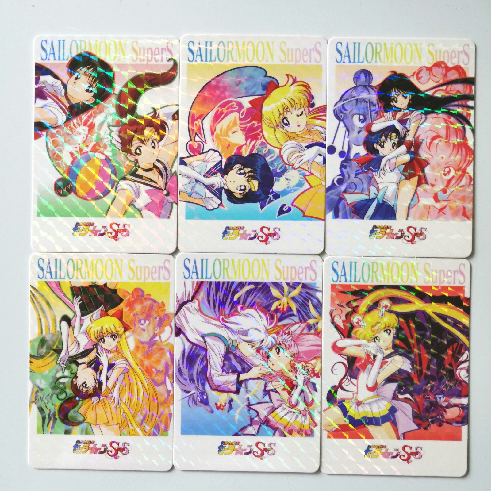 45pcs/set Sailor Moon Diamond Flash Toys Hobbies Hobby Collectibles Game Collection Anime Cards