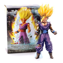Cor primária aos danos da guerra Figuras de Ação Dragon Ball Z Son Gohan Figura MSP Super Saiyan Toy Collectible Modelo Boneca Anime figuras(China)