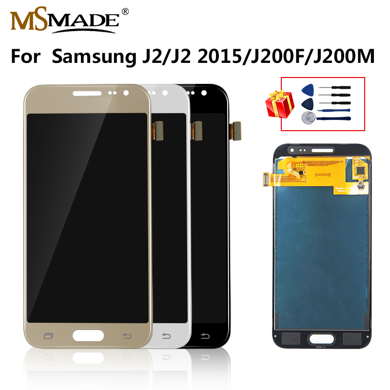 J200 LCD For Samsung Galaxy J2 2015 Display J200F J200M J200H J200Y LCD Display Touch Screen Digitizer Replacement Parts