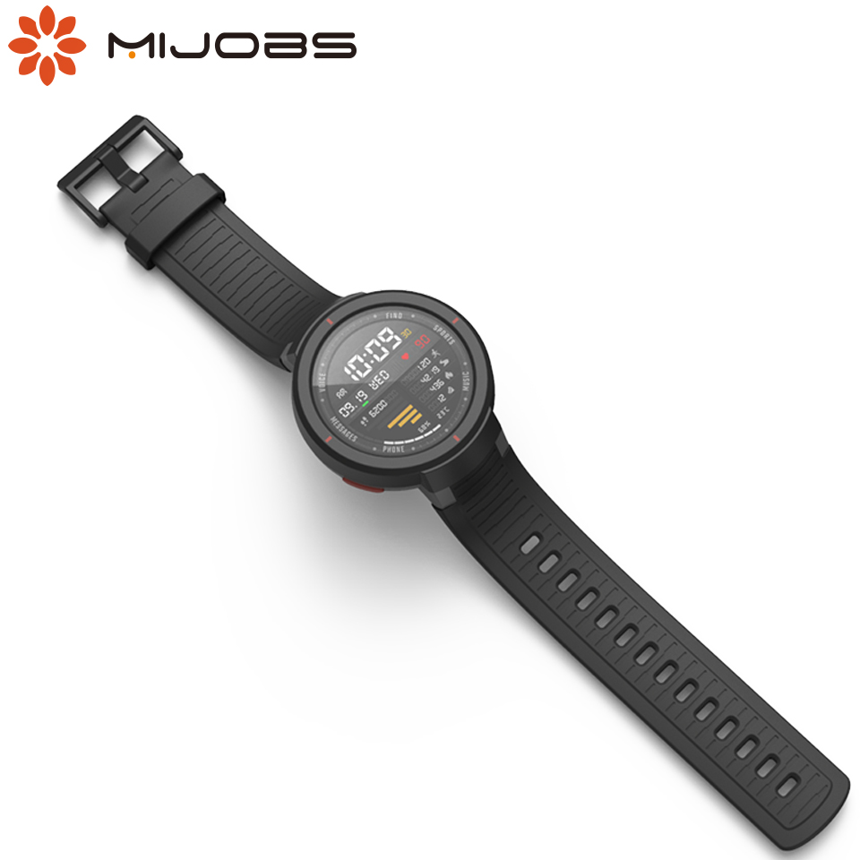Mijobs Amazfit Verge Strap For Xiaomi Huami Amazfit Verge Smart Watch Band Replacement Silicone Wrist Bracelet Wristbands