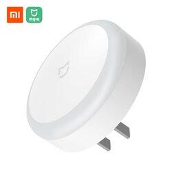 Xiaomi Mijia-Luz LED Original para pasillo nocturna, con Control remoto por infrarrojos, Sensor de movimiento para el cuerpo, lámpara inteligente magnética para el hogar