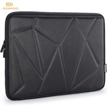 DOMISO 10 13 14 15.6 cala odporny na wstrząsy futerał ochronny na laptopa wodoodporna torba na laptopa dla Macbook Acer HP Black