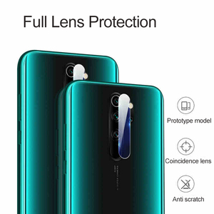 Image 5 - Camera Protector Glass For Xiaomi Redmi Note 8 7 K20 Pro Tempered Glass Metal Protective Ring For Redmi Note 8 9 Pro Max 9S Case