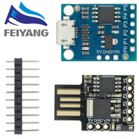 10PCS Blau Schwarz TINY85 Digispark Kickstarter Micro Entwicklung Bord ATTINY85 Modul für Arduino IIC I2C USB