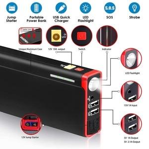Image 2 - Grepro carro ir para iniciantes 2000a carro buster booster bateria 12v carro de partida de emergência do veículo de partida de bateria de partida de carro banco de potência