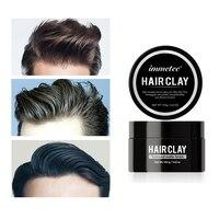 Arcilla cepillada de 100g para hombres, arcilla con textura cepillada fuerte, refrescante, a la moda para el cabello, arcilla de estilismo para el cabello