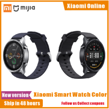2020 New Xiaomi Mi Smart Watch Color Version NFC 1.39 AMOLED Screen Multi dial Sport Fitness Xiaoai Voice Control Heart Rate