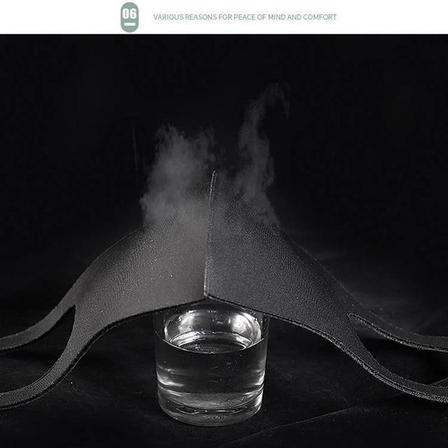 20pcs Unisex PM2.5 Mouth Mask Anti Haze Dust Mask Nose Filter Windproof Face Muffle Bacteria Flu Fabric Cloth Respirator health 4