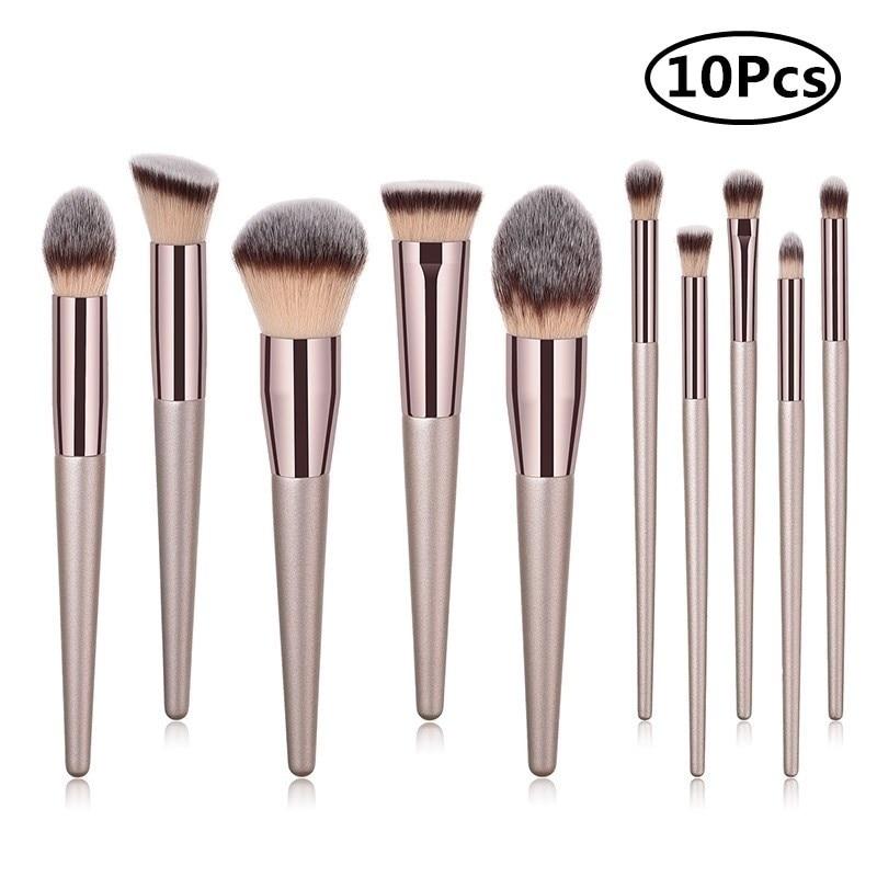 10pcs Makeup Brush