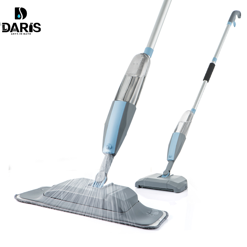 Mop 3 in 1 Spray Mop And Sweeper Machine Vacuum Cleaner Hard Floor Flat Cleaning Tool Set For Household Hand-held Easy Use Mop(China)