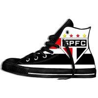 Sao Paulo Fc Brazil Football Soccer Crest Paulo Serie A Brasil Men Women 2019 Summer rLightweight Casual Shoes