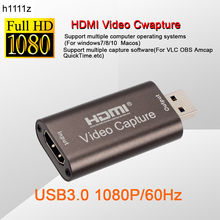 4K USB3.0 USB2.0 Audio vidéo Capture carte HDMI vers USB 3.0 2.0 carte d'acquisition en direct plaque de Streaming caméra commutateur jeu enregistrement