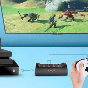 Image 5 - IPega PG 9133 السلكية لوحة مفاتيح وماوس محول محول ل N التبديل/PS4/XBOX ONE لعبة وحدة التحكم ل FPS الألعاب