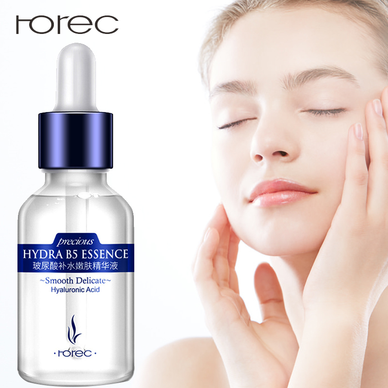 ROREC Hyaluronic Acid Moisturizing Face Serum Facial Anti-Aging Anti-Wrinkle Anti-Acne Liquid Collagen Serum Whitening For Face