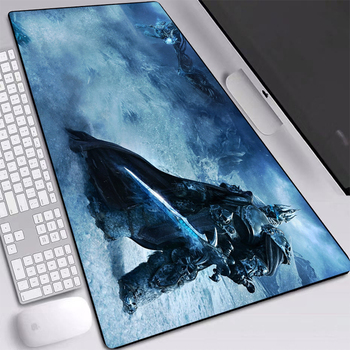 World of Warcraft Gaming Mouse Pad XXL King Mouse-pad Large Anti-slip XL Keyboard Desk Mice Mat for Laptop Rubber Play Mat mouse pad mouse mat gaming aluminum alloy double side 10 49 8 86 inch anti slip non slip large metal for mackbook laptop rubber