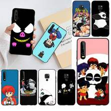 Hpchcjhm Ranma 1 2 Zwart Tpu Soft Phone Case Cover Voor Huawei P30 P20 Lite Mate 20 Pro Lite P smart 2019 Prime(China)