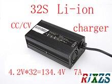 134.4 V 8A شاحن ل 32 S يبو/ليثيوم بوليمر/بطارية ليثيوم أيون حزمة الشواحن الذكية دعم CC/CV وضع 4.2 V * 32 = 134.4 V