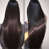 Shireen Indian Straight Hair Bundles With Frontal 13X4 Lace frontal With Bundles NonRemy Hair Weave Human Hair Extensions wave