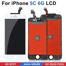 Voor Iphone 5C Digitale Touch Screen Vervanging. Geen Dode Hoek Op Het Lcd scherm, Aaa Niveau Is Perfect Getest Geschenken