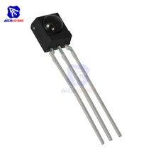 diymore 1 Piece TSOP4838 TSOP 4838 IR Infrared Receiver IC Module 38kHz